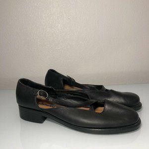 ellemeno Women's Flats Shoes Leather Size 10